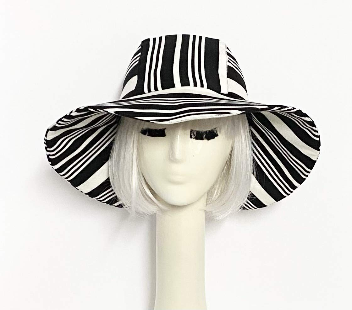Striped Sun Hat Online limited Rare product