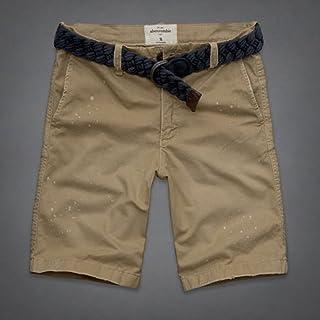 [アバクロキッズ] AbercrombieKids 正規品 子供服 ボーイズ ショートパンツ ベルト付き 並行輸入 (コード:4059080005)