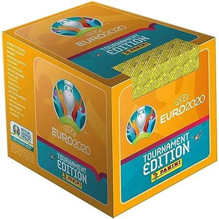 Panini France SA UEFA Euro 2020 Stickers 2021 Tournament Edition Boite de 50 Pochettes