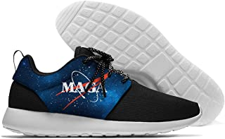 MAGA Make America Great Again Mens Lightweight Sports Running Shoes Sneakers Mesh Breathable Jogging Sneakers