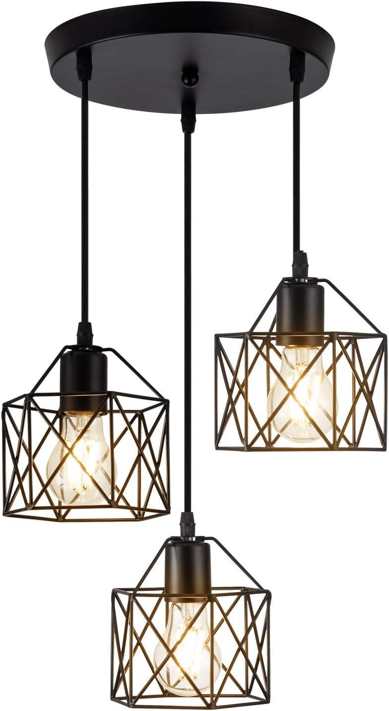KAIQI Industrial Popular overseas Pendant Light Sale item Cluster Lighting 3-Lights