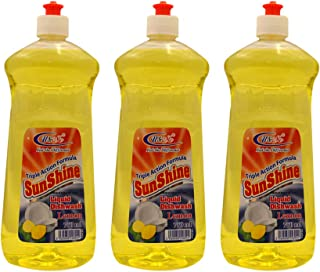 U&Me Sunshine Dishwash Liquid, 750 ml - Pack of 3