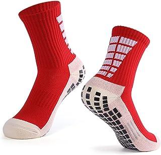 Explopur, Calcetines Antideslizantes de fútbol para Hombre Calcetines Deportivos de Tubo Alto de fútbol