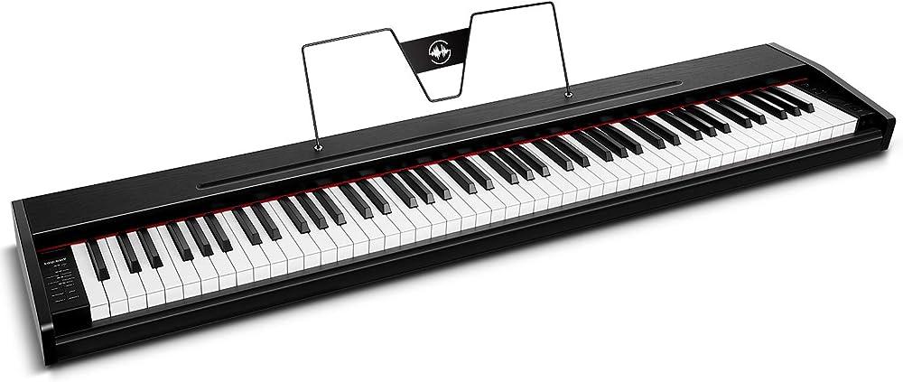 Souidmy pianoforte digitale, tastiera elettrica 88 tasti SEP-8801