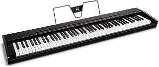 Souidmy Pianoforte Digitale, Tastiera Elettrica Compatta a 88 Tasti con Tasti Semi-Pesati, Campioni Tonalità di Pianoforti...