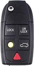 5 Button Remote Fob Key Shell for VOLVO XC90 S60 S80 V70 XC70 XC90 S80 S60 V70 XC70 2004-2011 No Chip( P/N: LQNP2T-APU,)