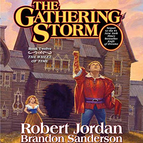 The Gathering Storm     Book Twelve of the Wheel of Time              By:                                                                                                                                 Robert Jordan,                                                                                        Brandon Sanderson                               Narrated by:                                                                                                                                 Michael Kramer,                                                                                        Kate Reading                      Length: 32 hrs and 58 mins     247 ratings     Overall 4.9