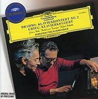 Brahms: Piano Concerto No. 2 / Grieg: Piano Concerto by ANDA / BERLIN PHIL ORCH / KARAJAN (2004-06-22)