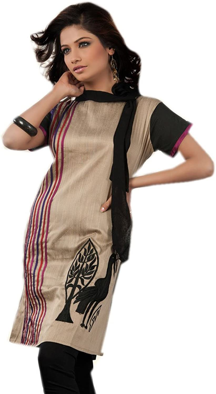 1545 Designs Women's Petite Size Silk Cotton Blouse Dress