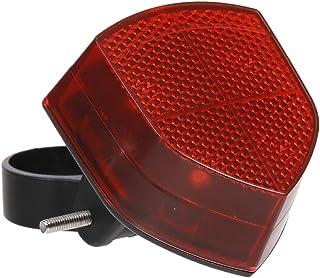 FLAMEER Reflector de luz Trasera Rojo Seguro con Accesorio de Ciclismo de Soporte