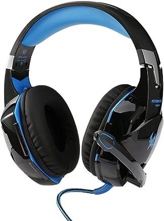 Heaviesk G2000 Over-Ear Gioco Gaming Headphone Cuffie per PC con Microfono Stereo Bass Noise Cancelling Music Gift - Trova i prezzi più bassi