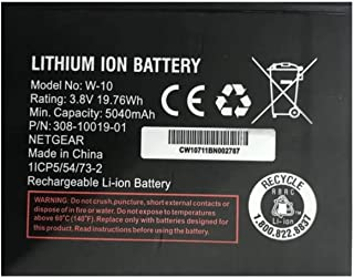 Battery Replacement for W-10 W-10A Nighthawk Router/Modem M1 MR1100
