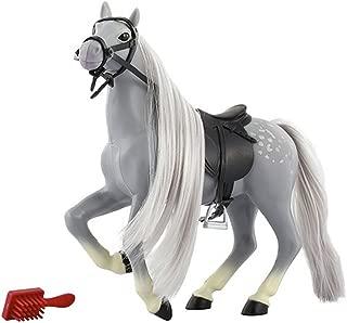 Royal Breeds Dapple Grey Mare Toy Horse-Saddle