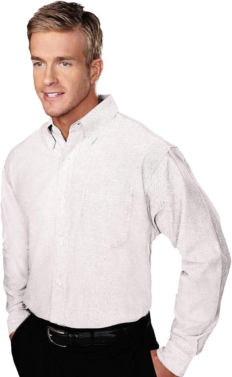 Tri-Mountain Stain Resistant Oxford Dress Shirt - 750 Techno