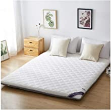 Tatami Mattress Thick and Comfortable Mattress Thicken 6 cm Foldable Queen Bed Mat Home Tatami Bedroom Furniture Single/Do...