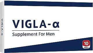 VIGLA-α(ビグラアルファ) 男性用 サプリメント 10錠 【健康補助食品】
