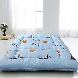 FF Colchón de futón Impreso de Dibujos Animados, colchón de Piso japonés para niñas, colchón Shikibuton, colchón portátil para Camping, Almohadilla para Dormir para niños, Cama Plegable, Cama p