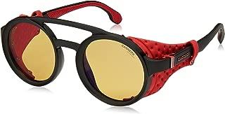 Carrera Gradient Round Unisex Sunglasses - (CARRERA 5046/S 003 49HW 49 Yellow Color)