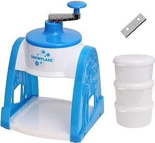 Victorio Hand Crack Snow Cone Machine Ice Shaver (Ice Shaver with Extra Blade)