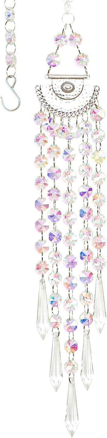 Weekly update Memphis Mall WEISIPU Crystal Sun Catcher Decor Suncatcher Window Pend Prism -
