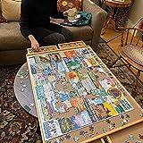 Jumbo Size: 34'×26' for Maximum 1500 Pieces Puzzles,...