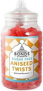Bonds of London - Sugar Free - Aniseed Twists 2kg Jar