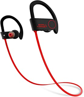 Bluetooth Headphones,Small Target Best Wireless Sports Earphones with Mic IPX7 Waterproof Stable Fit in Ear Earbuds Noise Isolating Stereo Headset 9-Hour Woriking Time for Running Workout Gym