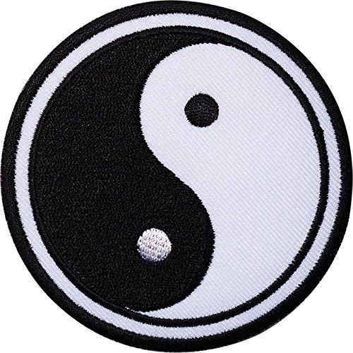 Parche bordado con símbolo de Yin y Yang de ELLU