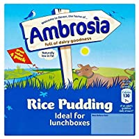 Ambrosia Rice Pudding (4x125g) アンブロシアのライスプディング??( 4X125G )
