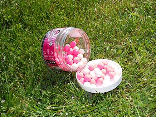 Mainline Fluoro Pop Ups Pink & White Mini Micro 8mm Cell Popups Popup Hakenköder