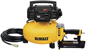 DEWALT Air Compressor Combo Kit with Brad Nailer (DWC1KIT-B): image