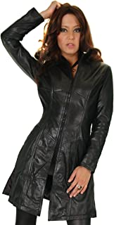 Giacca da donna in pelle nera heliobil 112 nero Top