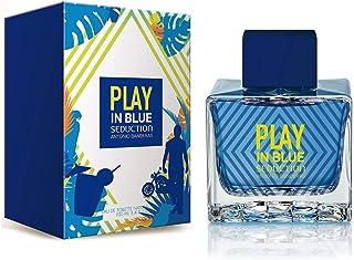 Play in Blue Seduction by Antonio Banderas Eau De Toilette Spray 3.4 oz / 100 ml (Men)