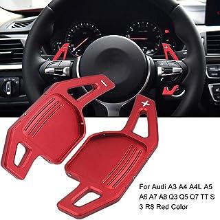 Ingeniously Volant de Palette /à palettes Volant de Palette de Voiture Volant de Changement de Vitesses /à Palette pour Audi A3 A4 A4L A5 A6 A7 A8 Q3 Q5 Q7 TT S3 R8 Couleur de r/éf/érence