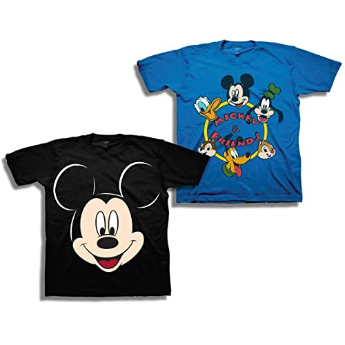 d1d3d15cb Disney Boys Mickey Mouse Shirt - 2 Pack Mickey Mouse Tees - Mickey Mouse &  Friends