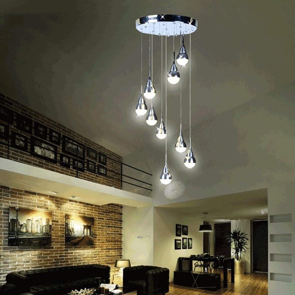 Lámpara de techo Moderno Contemporáneo Simple Luces colgantes Personalidad creativa Candelabros Bar Escaleras Esquina Corredor Entrada Iluminación: Amazon.es: Iluminación