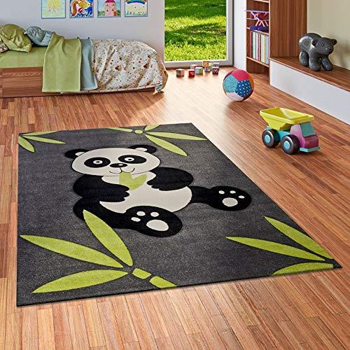 Kinder Spiel Teppich Savona Kids Pandabär, Größe:120x170 cm