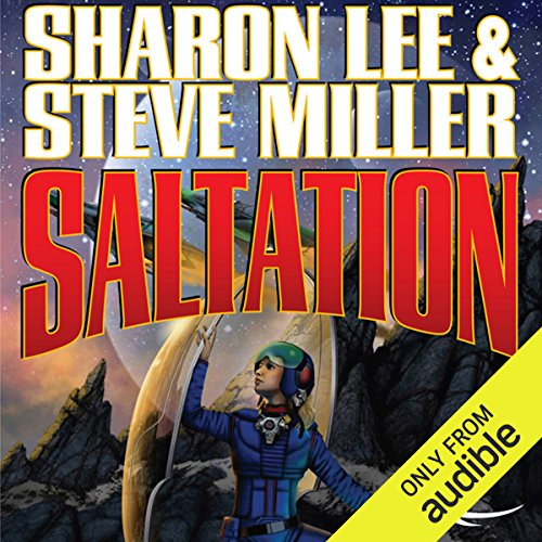 Saltation audiobook cover art
