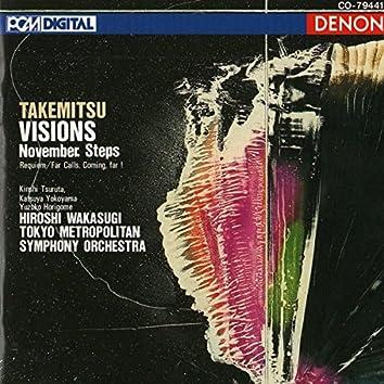 Takemitsu: Visions, November Steps