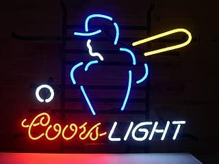 Coors Light Mlb Basebal Neon Sign 17