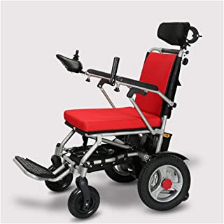 Wheelchair, Aluminum Alloy Wheelchair, Portable and Portable Multi-Function Elderly Disabled Scooter, Nursing Car Swing Away Footrests fgfhfggsdfsd SZWHO