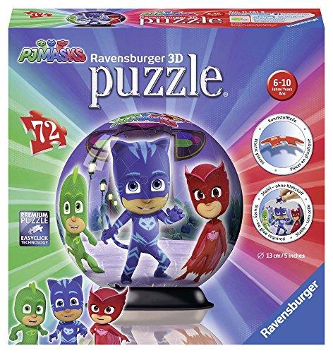 Ravensburger 11781Puzzle 3d–pyjamasques–72piezas , color/modelo surtido