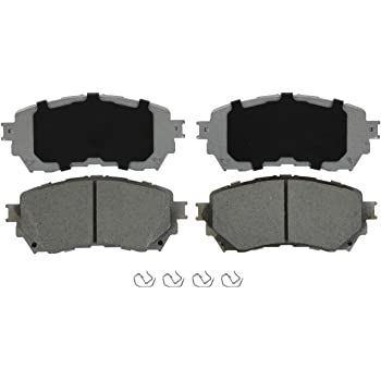 NEW WAGNER THERMO QUIET FRONT BRAKE PADS MX659 D659 FITS *SEE CHART*