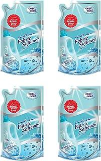 Cool & Cool Liquid Fabric Softener - 4 x 1L