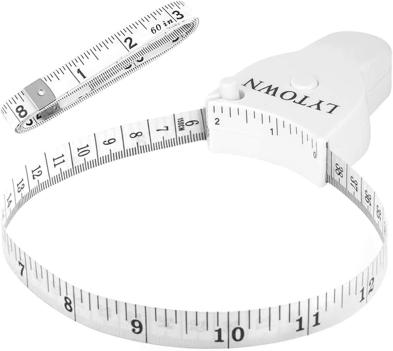 Latest item 2 Pack Tape Measure Body 60inch Pin Lock 150cm Measuring Finally popular brand
