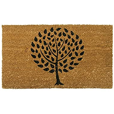 Rubber-Cal  Modern Landscape  Contemporary Doormat, 18 by 30-Inch
