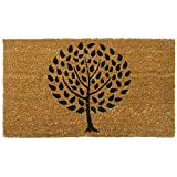 Rubber-Cal 'Modern Landscape Contemporary Doormat, 18 by 30-Inch