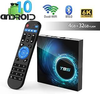 comprar comparacion Android TV Box, TUREWELL T95 Android 10.0 Allwinner H616 Quadcore 4GB RAM 32GB ROM Mali-G31 MP2 GPU Soporte 6K 3D 1080P 2....