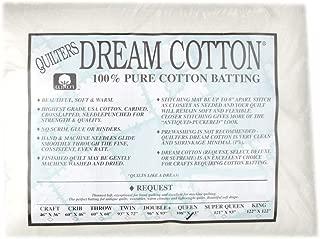 Quilter's Dream Natural Cotton White Request Batting (108