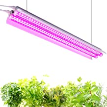 Monios-L 4FT LED Grow Light Full Spectrum 60W T5 High Output Integrated Fixture with Reflector Combo for Indoor Plants